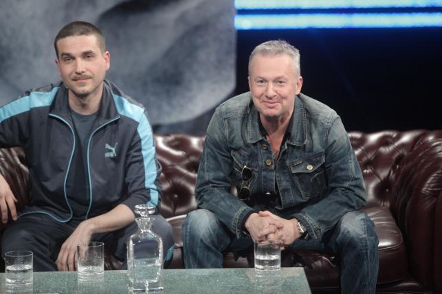 Marcin Dorociński i Bogusław Linda u Kuby Wojewódzkiego