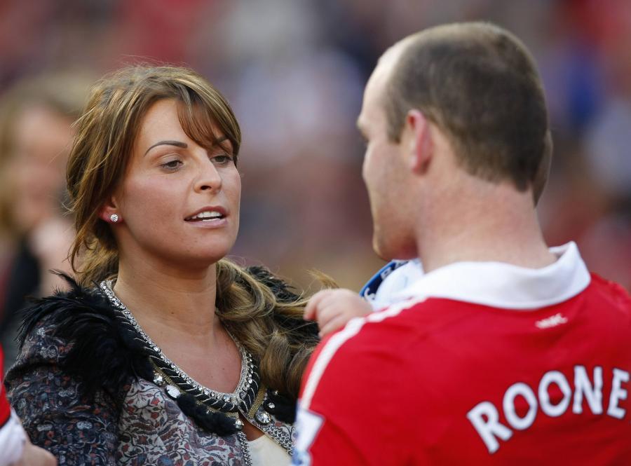 Coleen i Wayne Rooney