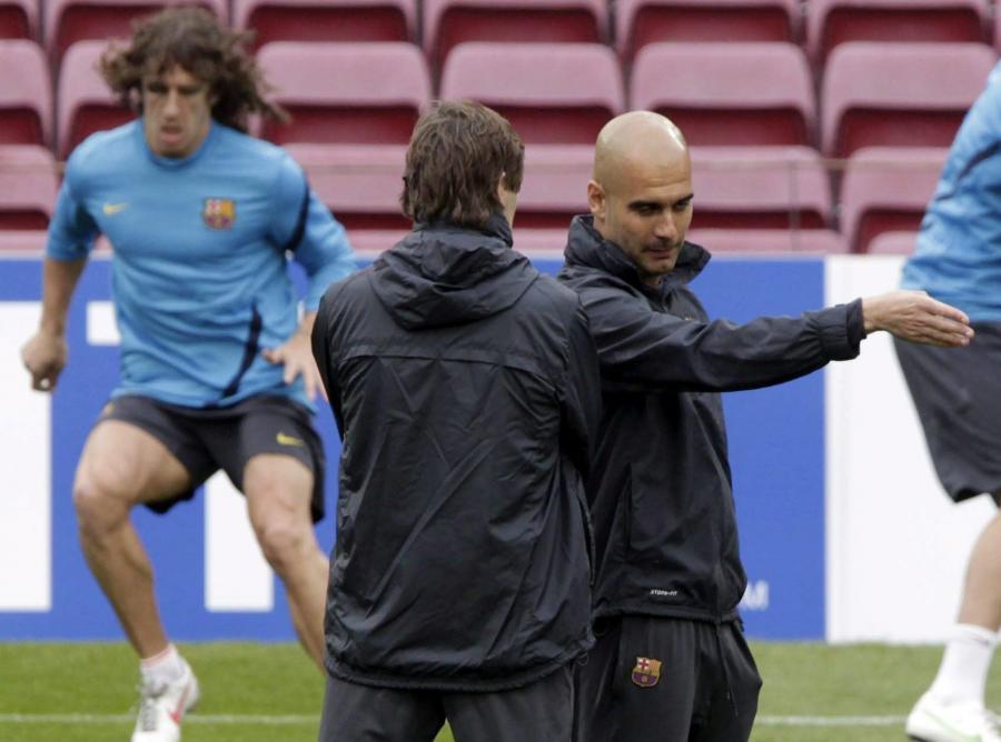 Pep Guardiola i Tito Vilanova