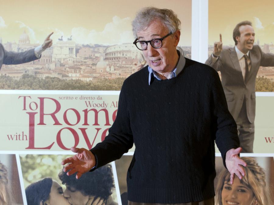 Woody Allen na włoskiej premierze \