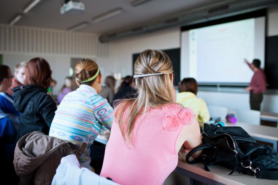 Zajęcia w czasie studiów - zdjęcie ilustracyjne