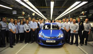 Opel astra OPC - pierwsza sztuka