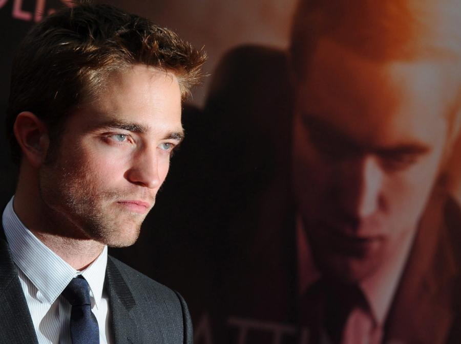 Robert Pattinson na premierze \