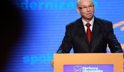 Komisarz Unii Europejskiej Janusz Lewandowski
