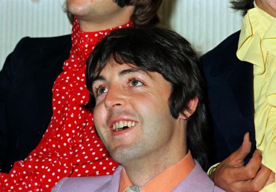 Paul McCartney w 1968 roku