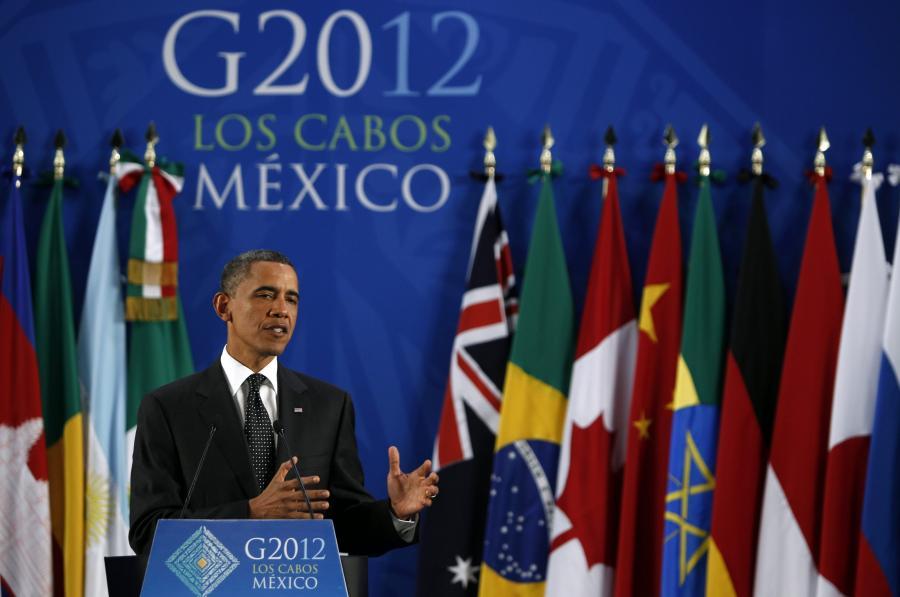 Barack Obama na szczycie G20