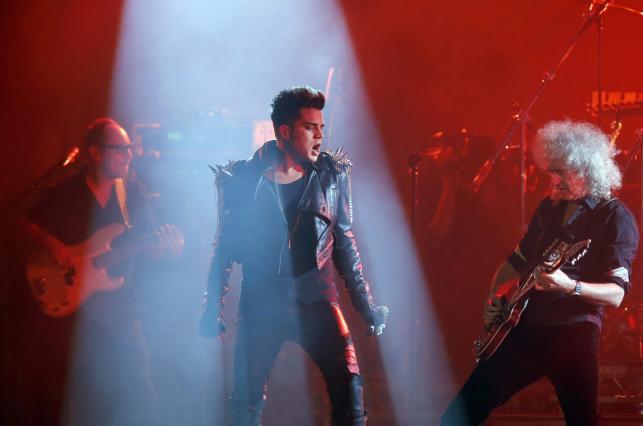 Adam Lambert i Queen na finał Euro 2012 w Kijowie