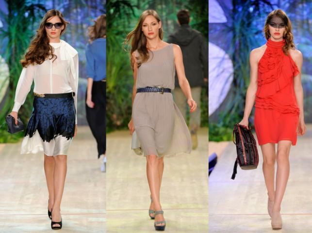 Pokaz kolekcji Sisley na sezon wiosna/lato 2012