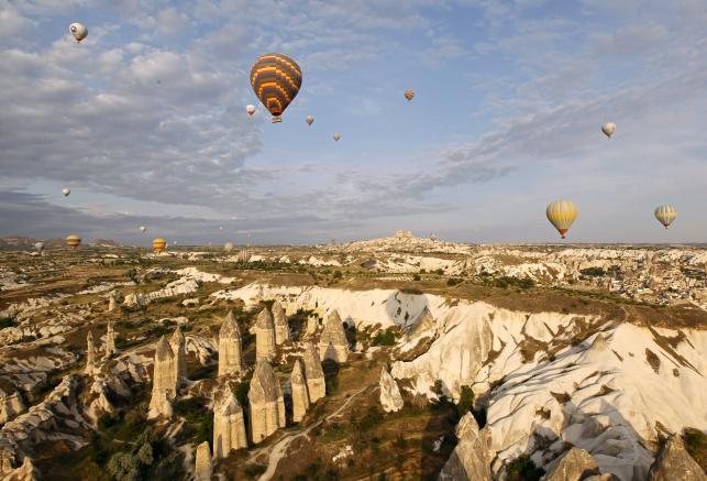 Niesamowita turecka Kapadocja