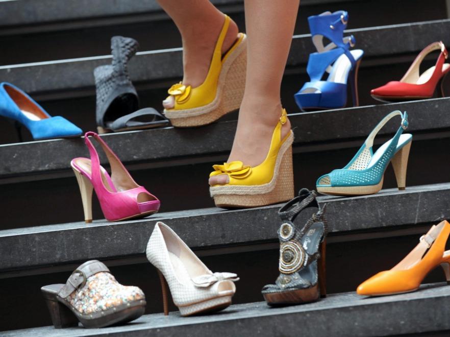 Różne buty damskie