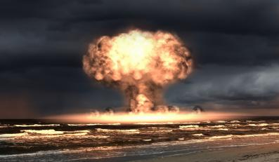 Eksplozja jądrowa - zdjęcie ilustracyjne