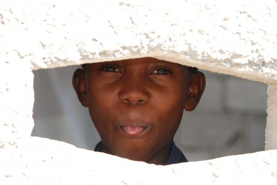 Chłopiec z Haiti