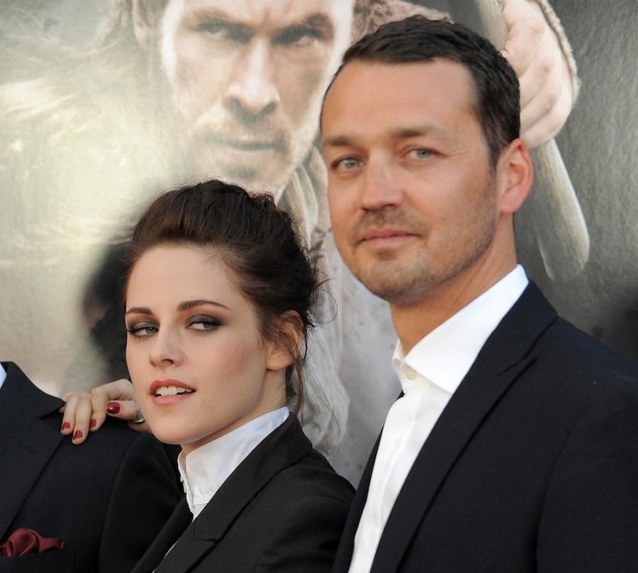 Kristen Stewart i Rupert Sanders na premierze filmu \