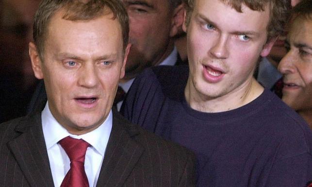 Donald i Michał Tuskowie
