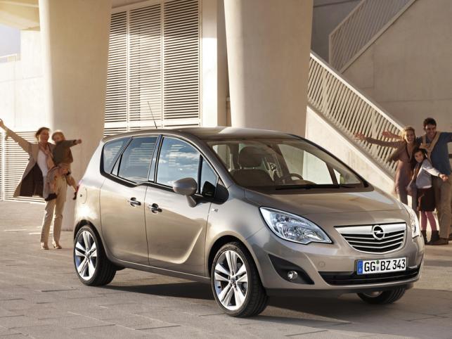 Koniec zabawy w kotka i myszkę! Opel ujawnił światu merivę nowej generacji.