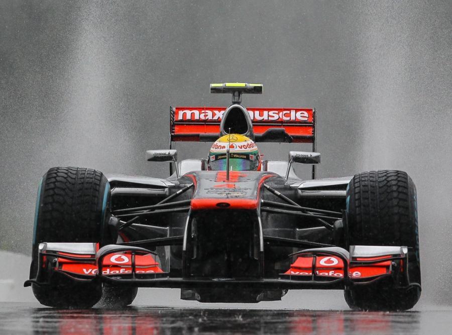 Lewis Hamilton z teamu McLaren Mercedes