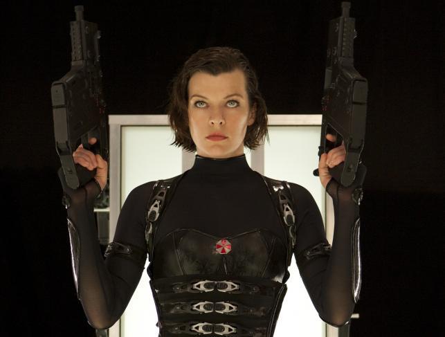 "Milla Jovovich w filmie ""Resident Evil: Retrybucja"""