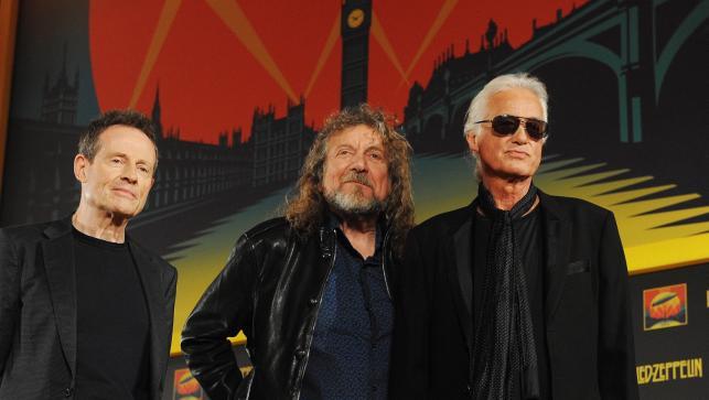 Jimmy Page, Robet Plant i John Paul Jones