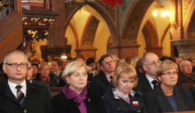 Jolanta Szczypińska i Anna Fotyga