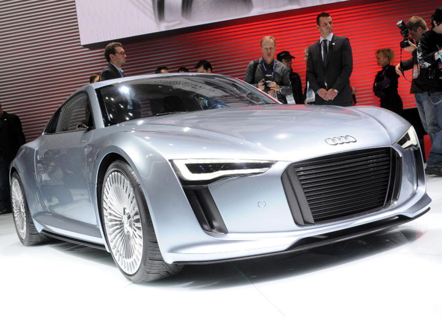 Małe, sportowe Audi… na prąd