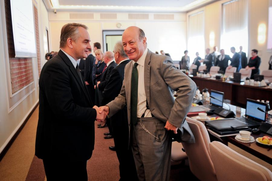Waldemar Pawlak i Jacek Rostowski