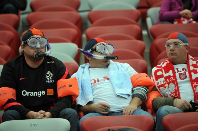 Tak bawili się polscy kibice na Stadionie Narodowym