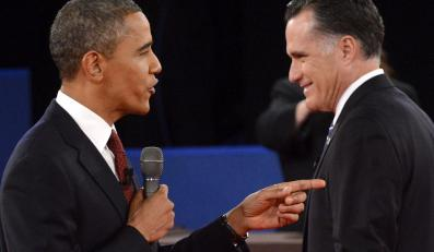 Barack Obama i Mitt Romney