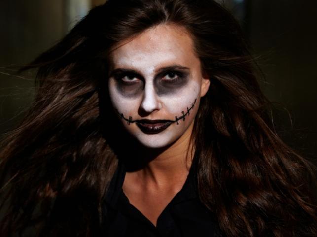 Makijaż na Halloween 2012