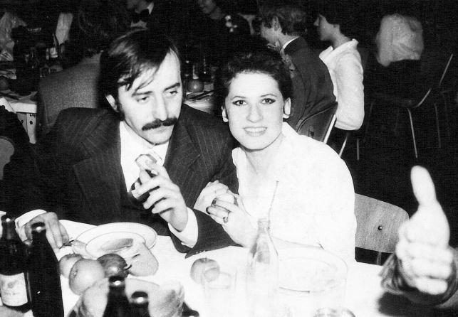 Beata Kozidrak i Andrzej Pietras – studniówka Beaty w III LO w Lublinie