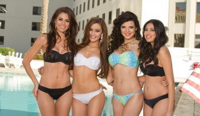 Zgrupowanie kandydatek do tytułu Miss Universe 2012 w Los Angeles