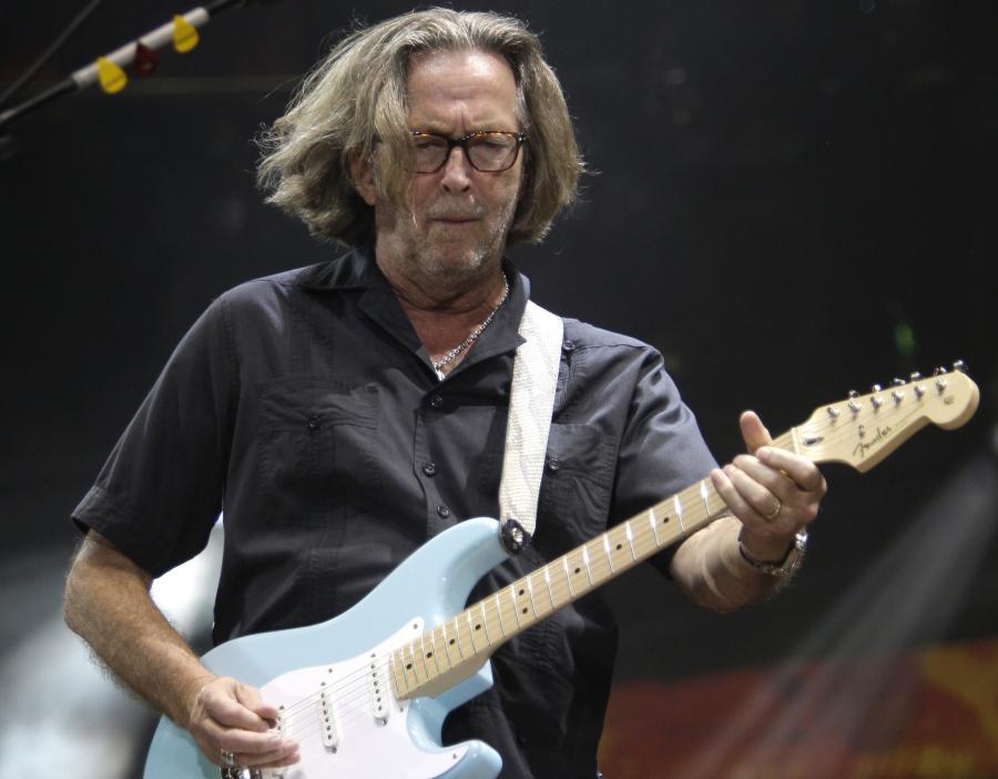 Eric Clapton wydaje \
