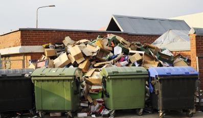 Śmieci- zdjęcie ilustracyjne
