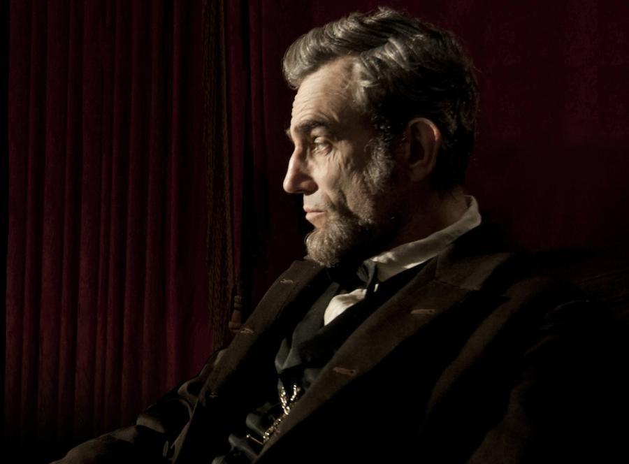 Daniel Day-Lewis jako Lincoln