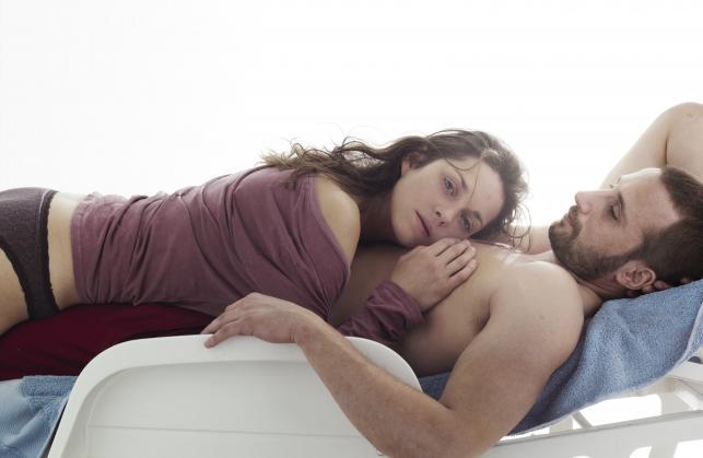 "Marion Cotillard i Matthias Schoenaerts w filmie ""Rust and Bone"""