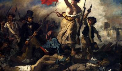 """""""Wolność wiodąca lud na barykady"""" Eugene'a Delacroix"""