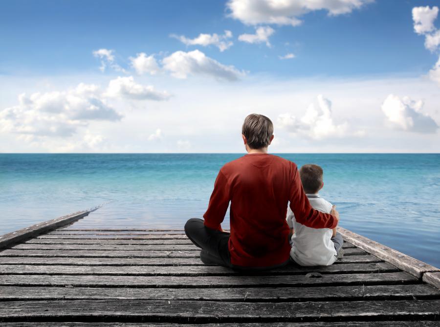 Ojciec i syn - zdjęcie ilustracyjne