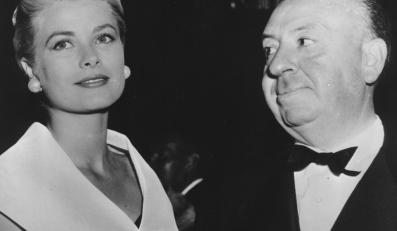 Alfred Hitchcock i Grace Kelly