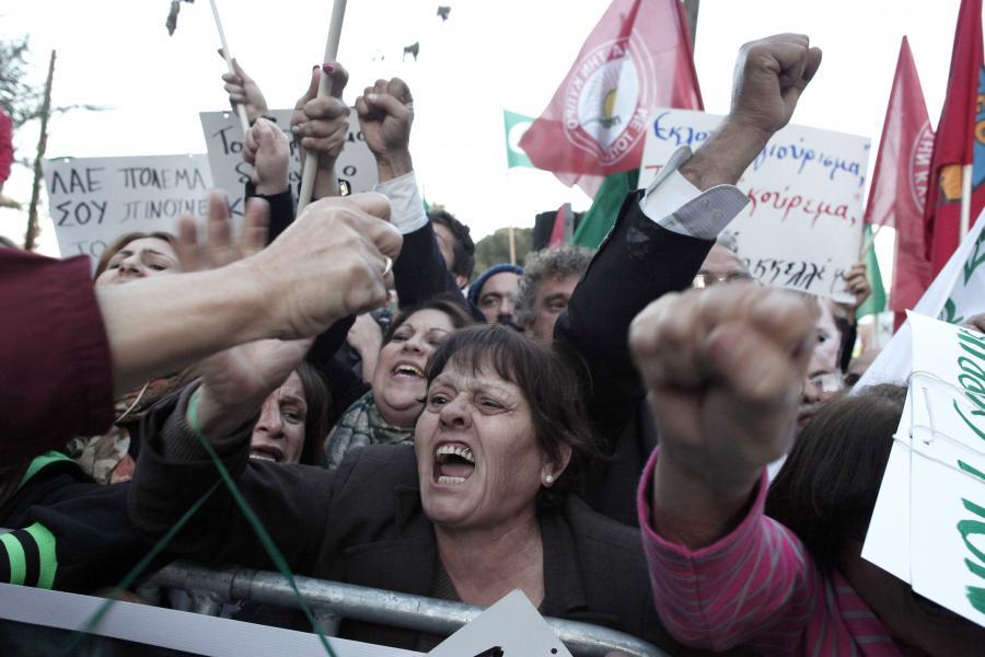 Protest Cypryjczyków