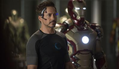 "Robert Downey Jr. w filmie ""Iron Man 3"""