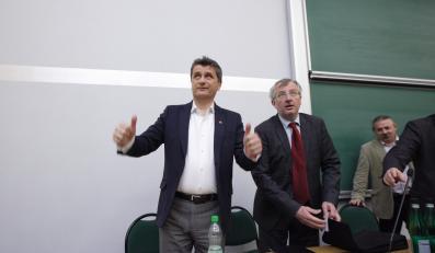 Janusz Palikot i Marek Siwiec