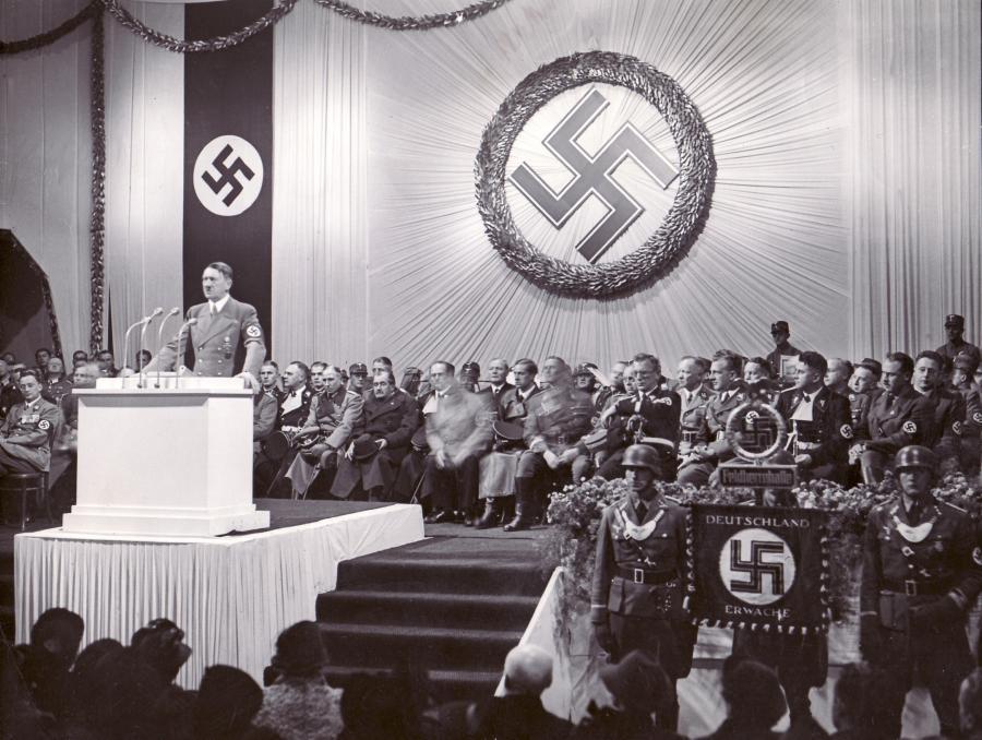 Przemówienie Adolfa Hitlera