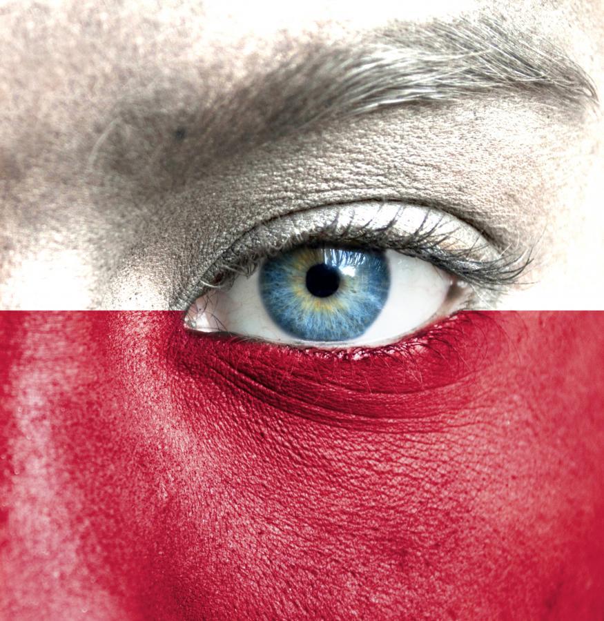 Biało-czerwone barwy