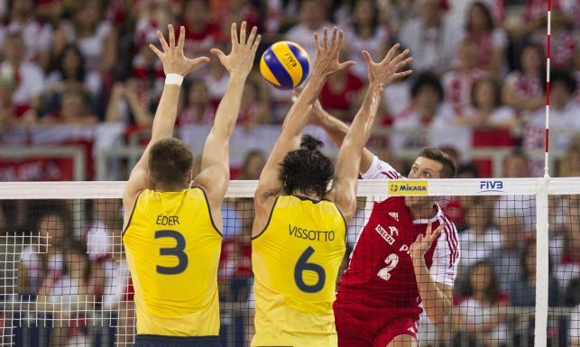 Polska - Brazylia (Fot. KATARZYNA PLEWCZYNSKACYFRASPORT/ Newspix)