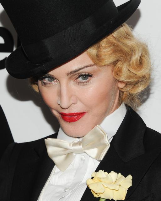 """Madonna na premierze swego nowego DVD """"The MDNA Tour"""""""