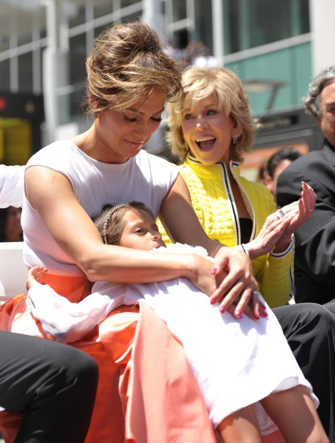 Jennifer Lopez z córeczką Emmą