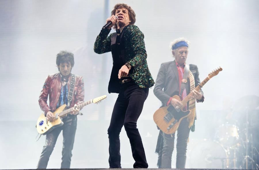The Rolling Stones na festiwalu w Glastonbury