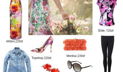 Stylizacje floral na lato 2013