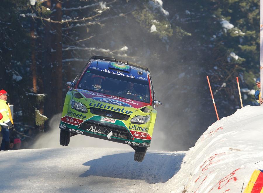 Ford najszybszy na śniegu! Polak dobrze