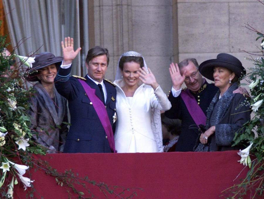 Ślub księżnej Matyldy i księcia Filipa