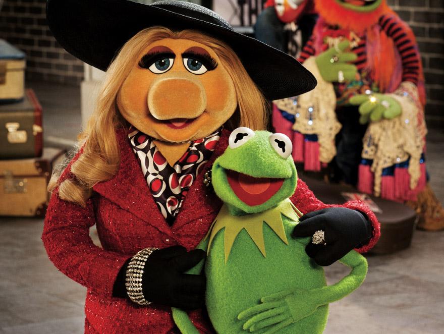 Kermit i Piggy składają gratulacje